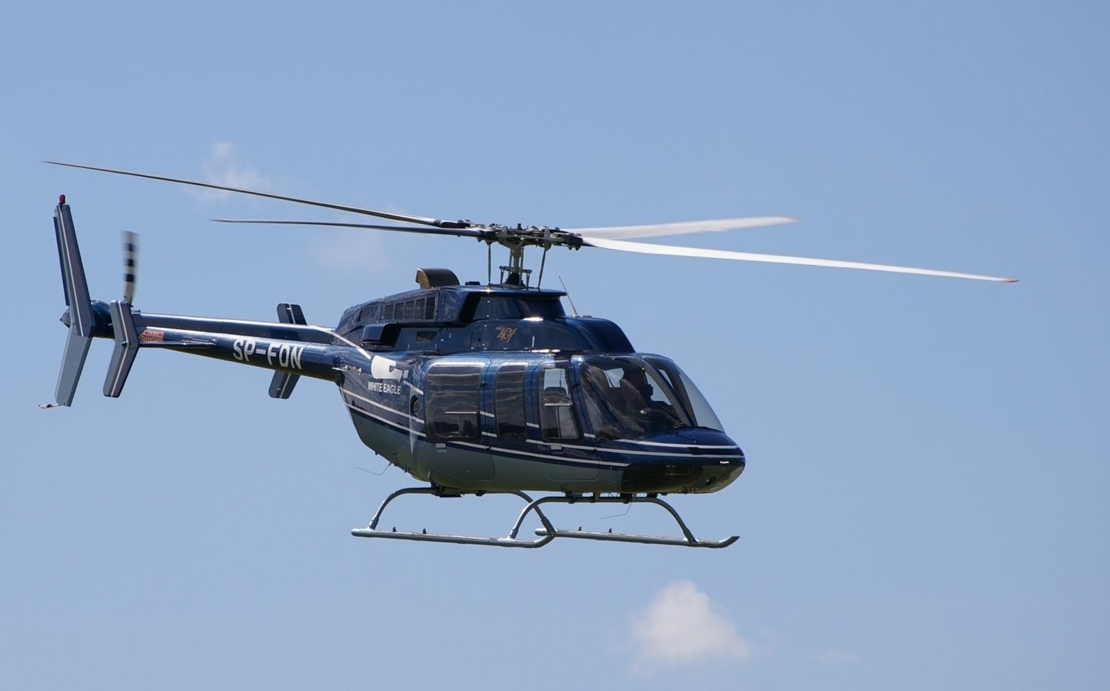 Mykonos Concierge Private Jets & Helicopters Rentals - Bell 407 6 Pax, 1 Pilot